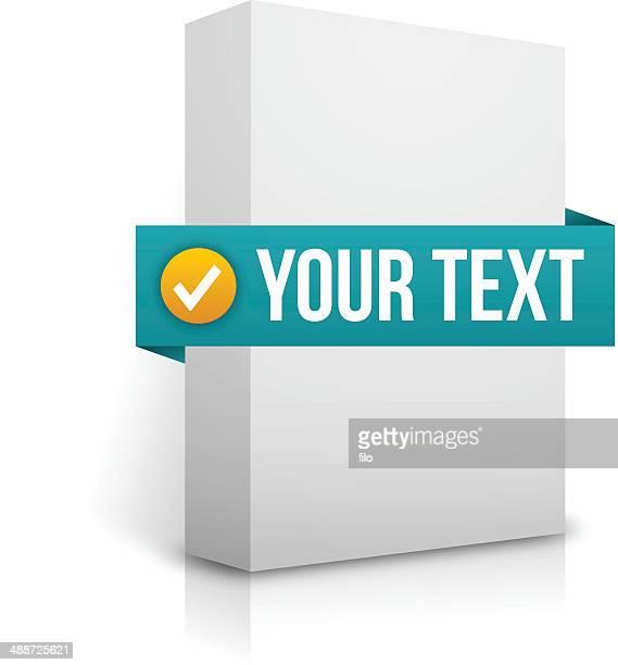 ソフトウェアボックス - 書店点のイラスト素材/クリップアート素材/マンガ素材/アイコン素材