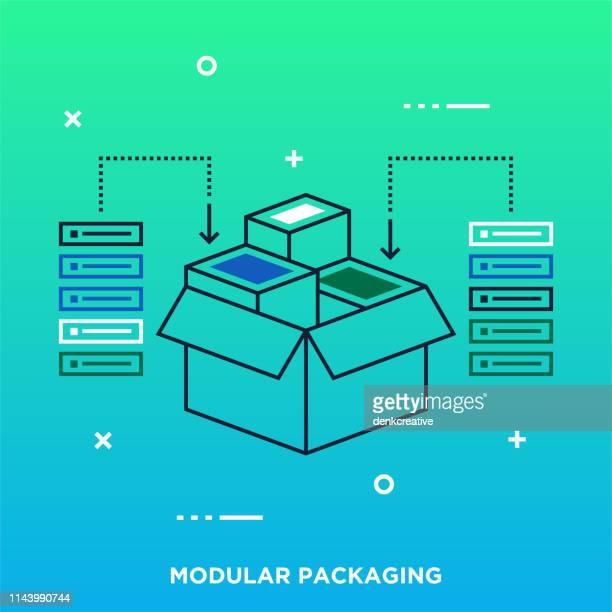 software design & development outline vector graphic concept - access control stock illustrations, clip art, cartoons, & icons