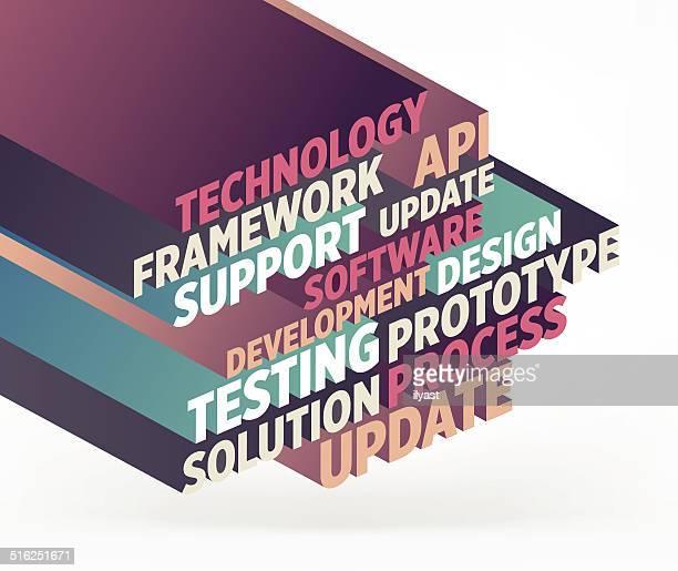 ソフトウェア開発 - 最新情報点のイラスト素材/クリップアート素材/マンガ素材/アイコン素材