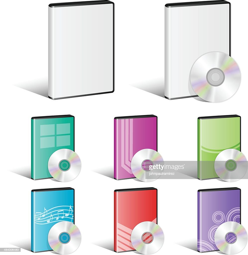 Software Disk, Video Disk, DVD, Cover Designs, CD