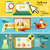 Software testing, games and crash test