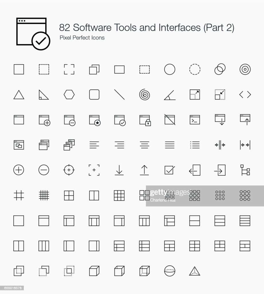 82 Software Tools and Interfaces (Line Style) Part 2 of 2