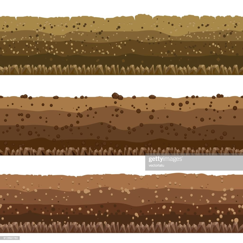 Soil layers set