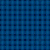 Solar Cells Seamless Pattern For Roof Solar Power Panel Design.