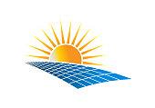Solar Power Energy symbol Vector Illustration