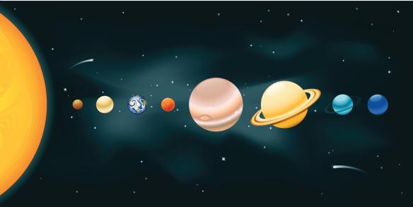 Solar System - gettyimageskorea