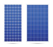 Solar vector panel set