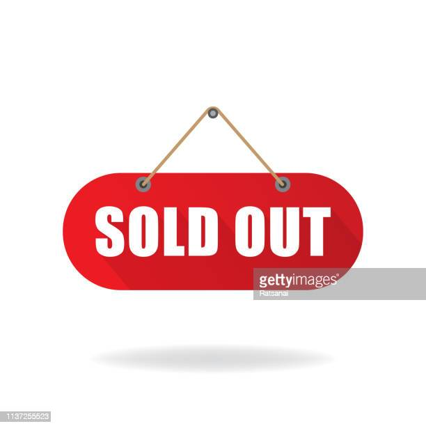 sold out icon - sold out stock illustrations