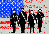 Soldiers of civil war