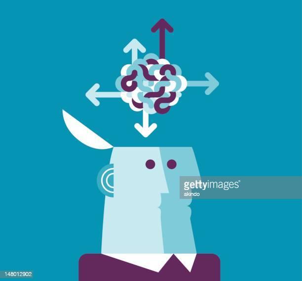 solution - tangled stock illustrations