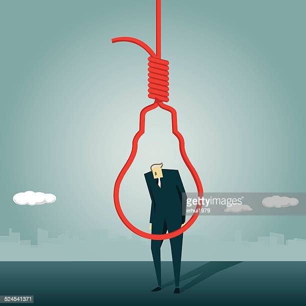 Solution,Capital Punishment, Office Worker, Suicide, Business Person