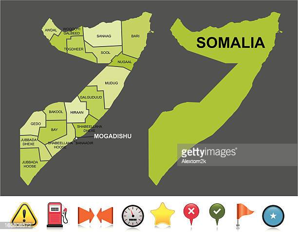 World\'s Best Somalia Stock Illustrations - Getty Images