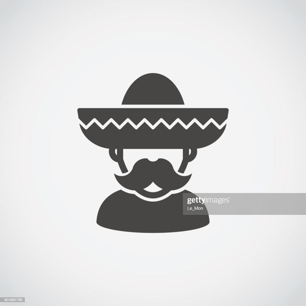 Sombrero Mexican man