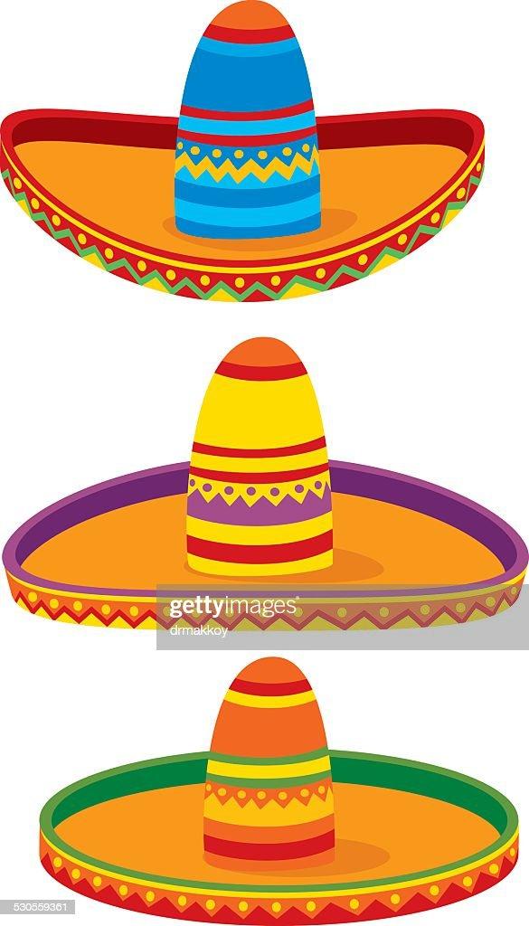 Sombrero : Stock Illustration