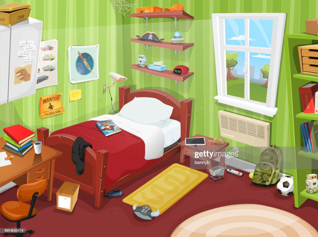 Some Kid Or Teenager Bedroom
