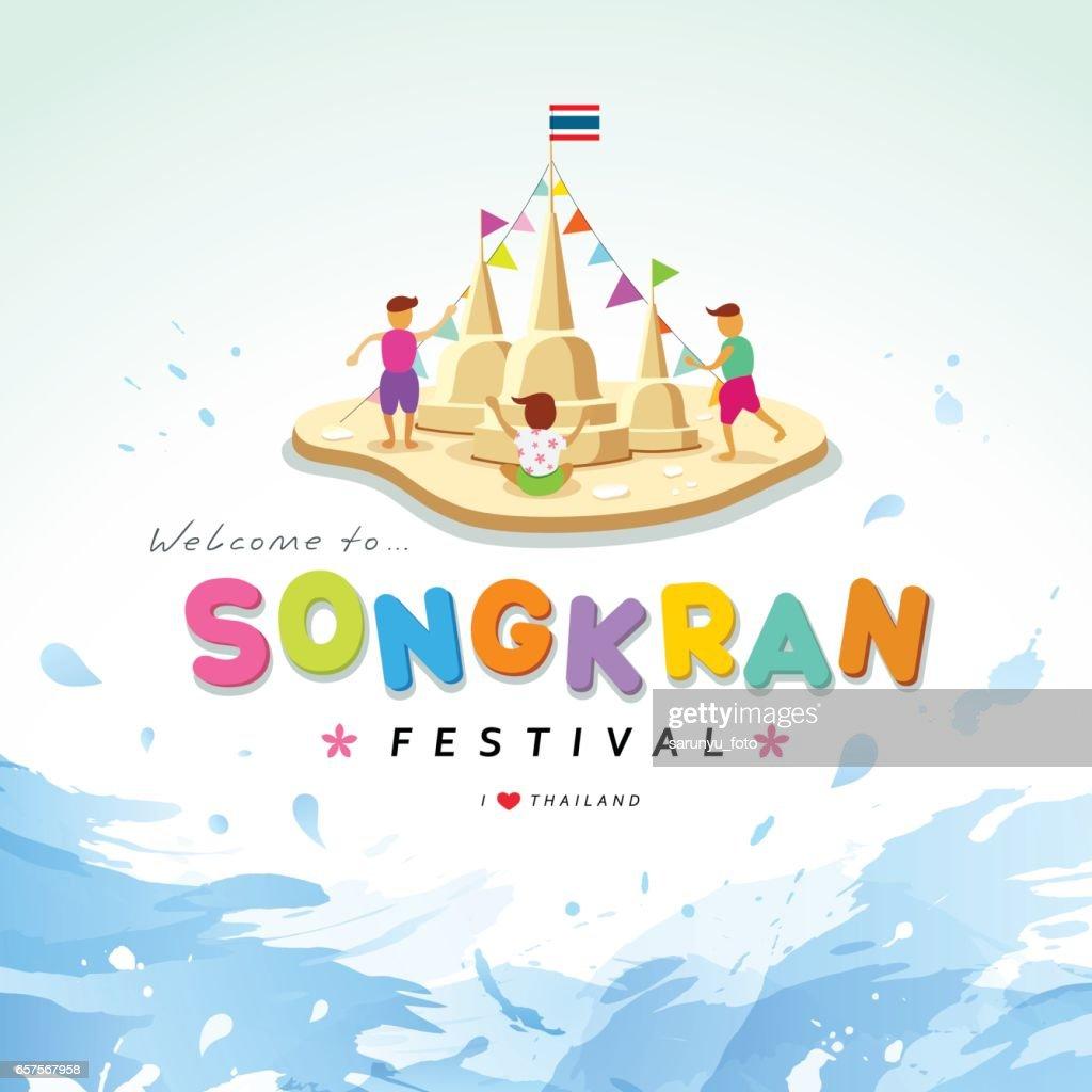 Songkran festival of Thailand
