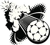 Sonic Boom Soccer Ball