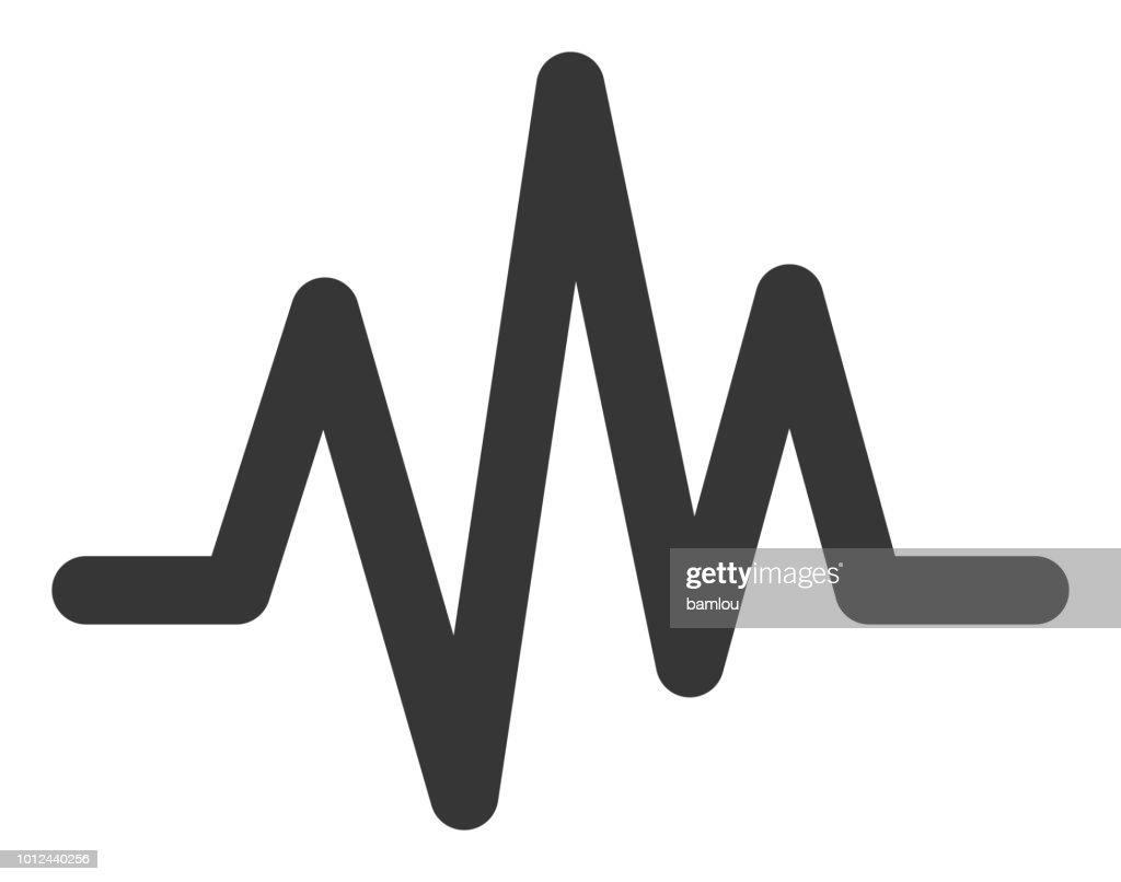 Soudwave icône : clipart vectoriel