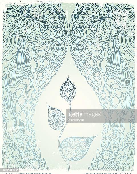 soul blossom - female reproductive organ stock illustrations