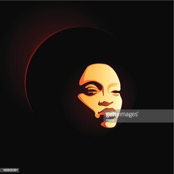 soul lady afro