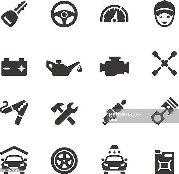 soulico - car - car battery stock illustrations, clip art, cartoons, & icons