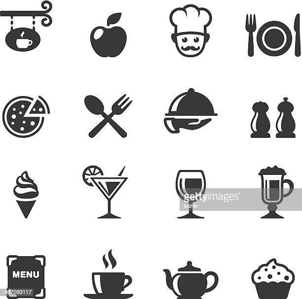stockillustraties, clipart, cartoons en iconen met soulico - dining - food