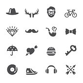 Soulico icons - Hipster style set