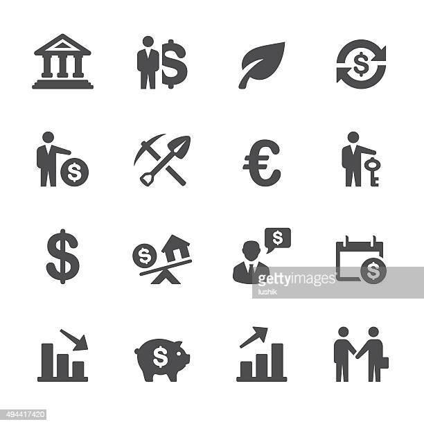 Investissement Soulico icônes-ensemble