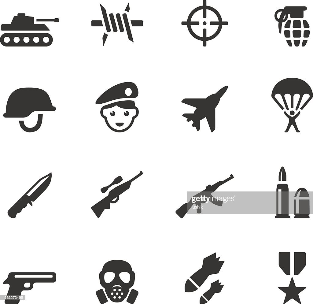 Soulico icons - Military