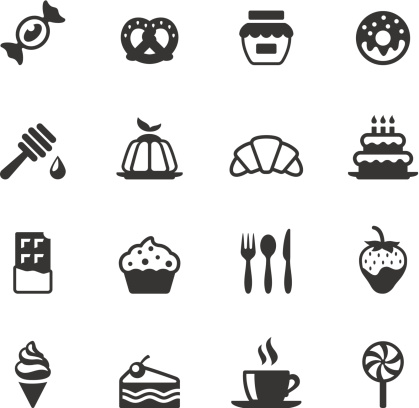 Soulico icons - Sweet Food - gettyimageskorea