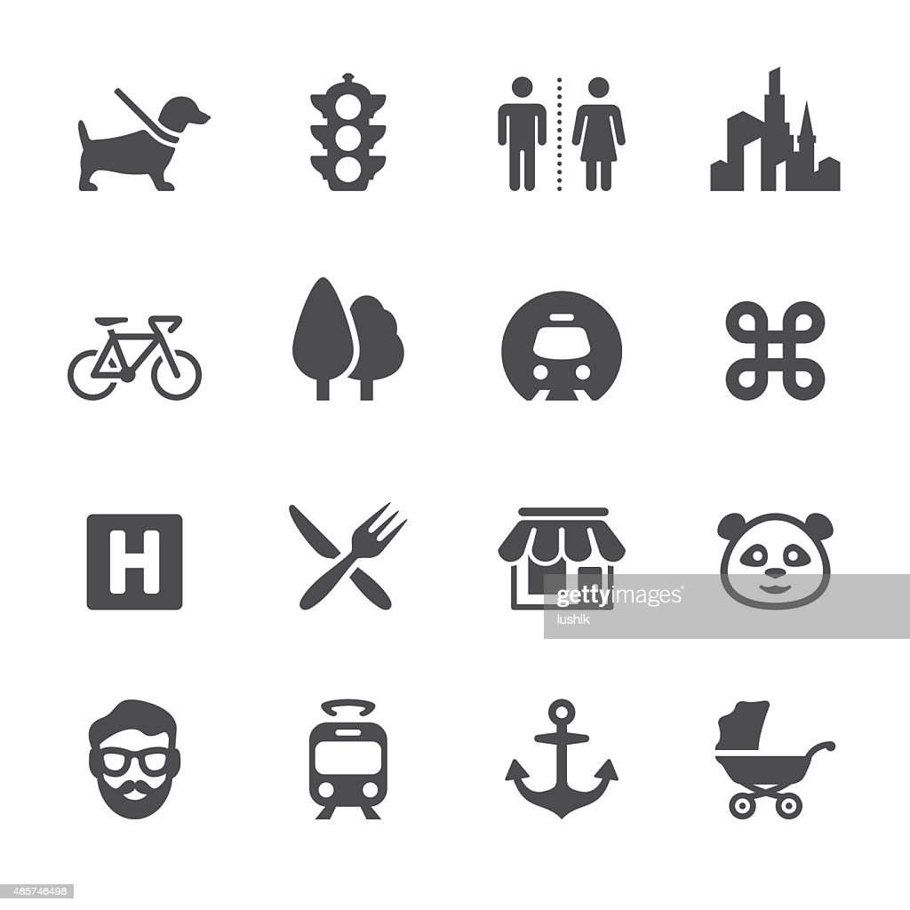 Soulico icons - Urban and City life