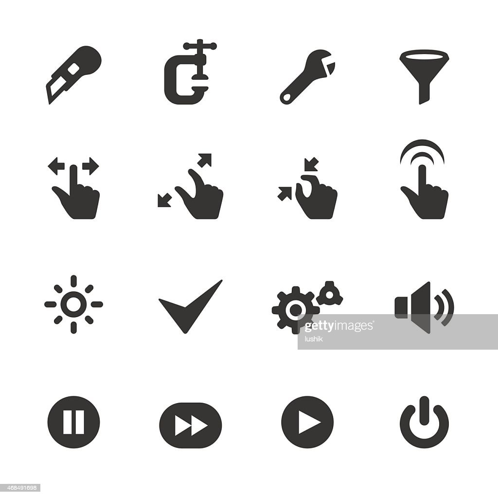Soulico icons - Web tool Buttons