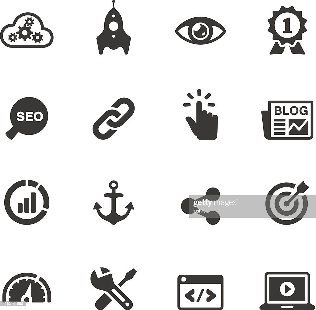 Soulico - Internet Marketing vector icons