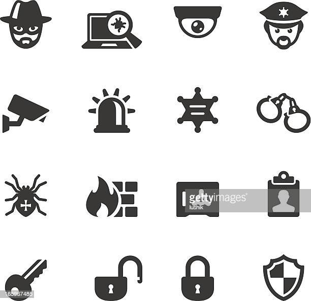 soulico - security system - cardkey stock illustrations, clip art, cartoons, & icons