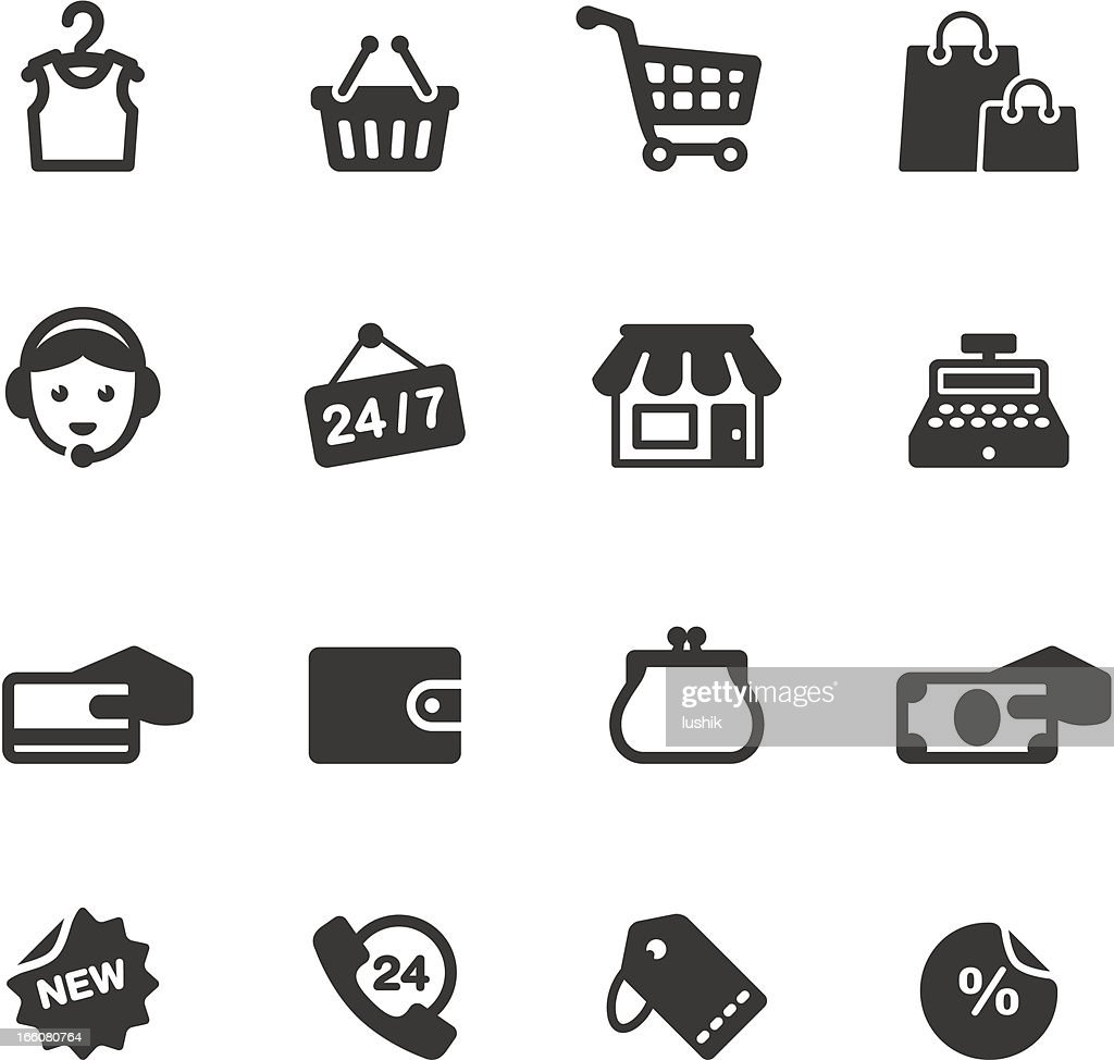 Soulico - Shopping and Sale related vector icons : stock illustration