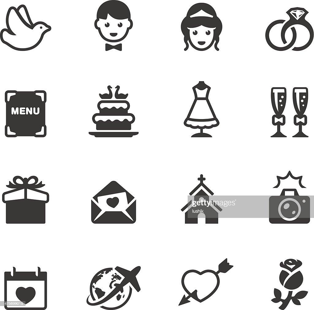 Soulico - Wedding icons