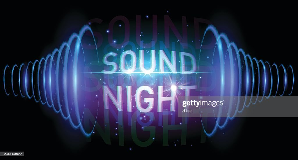 Sound night banner