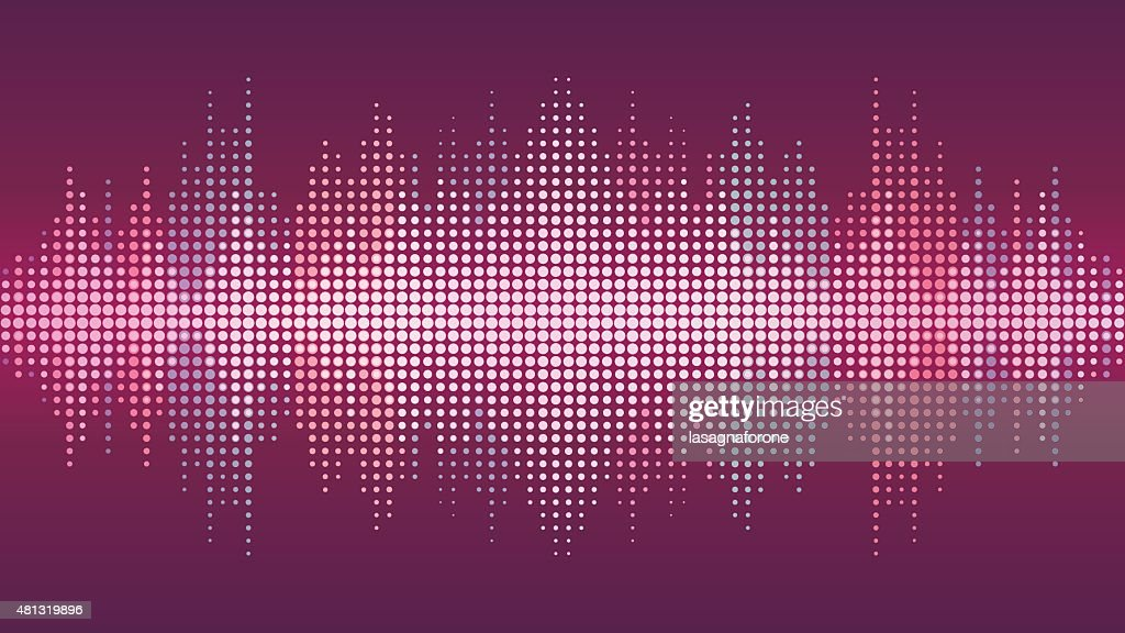 Sound Wave Background : stock illustration