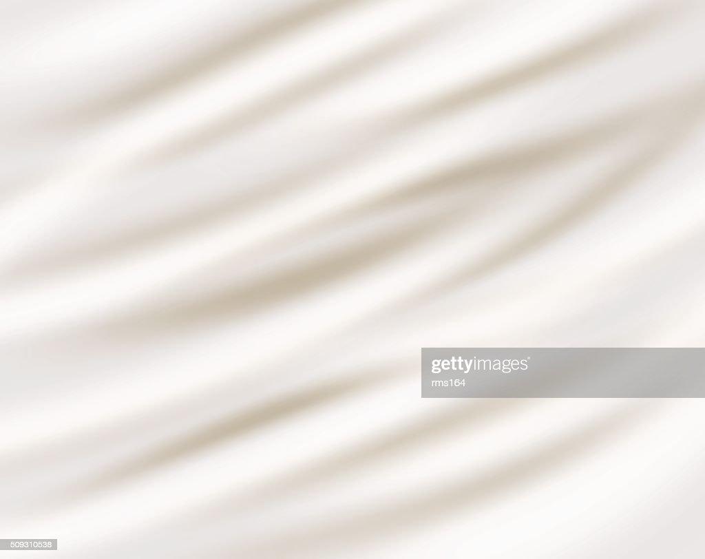 sour cream  on white background
