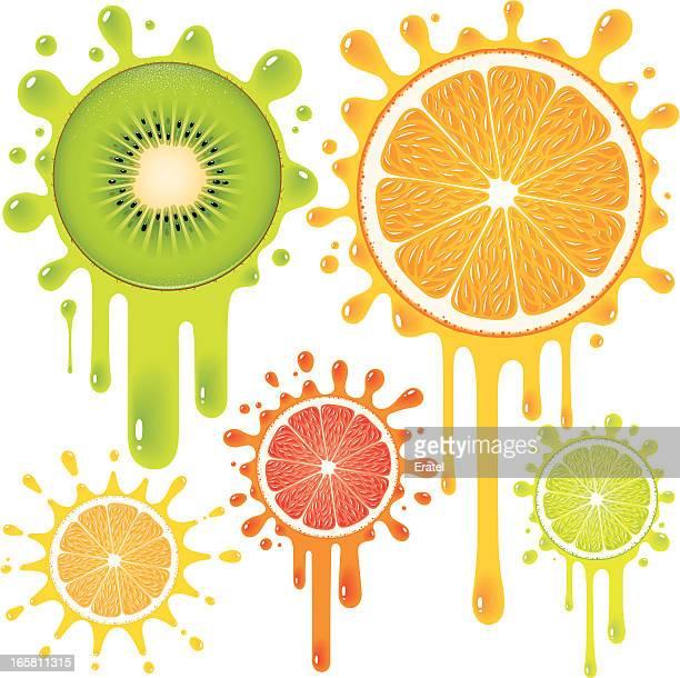 sour drops - fruit juice stock illustrations, clip art, cartoons, & icons