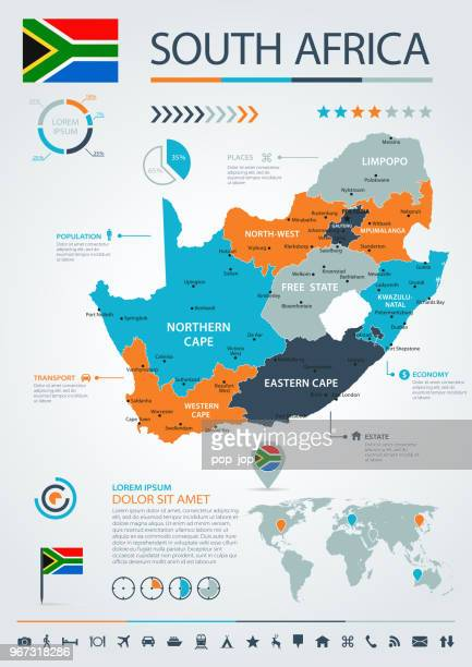 12 - South Africa - Blue-Orange Infographic 10