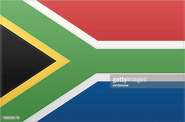 South Africa Flag (Vector)