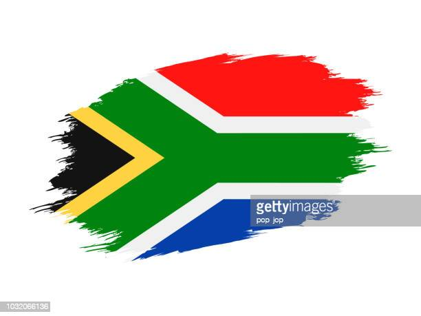 South Africa - Grunge Flag Vector Flat Icon