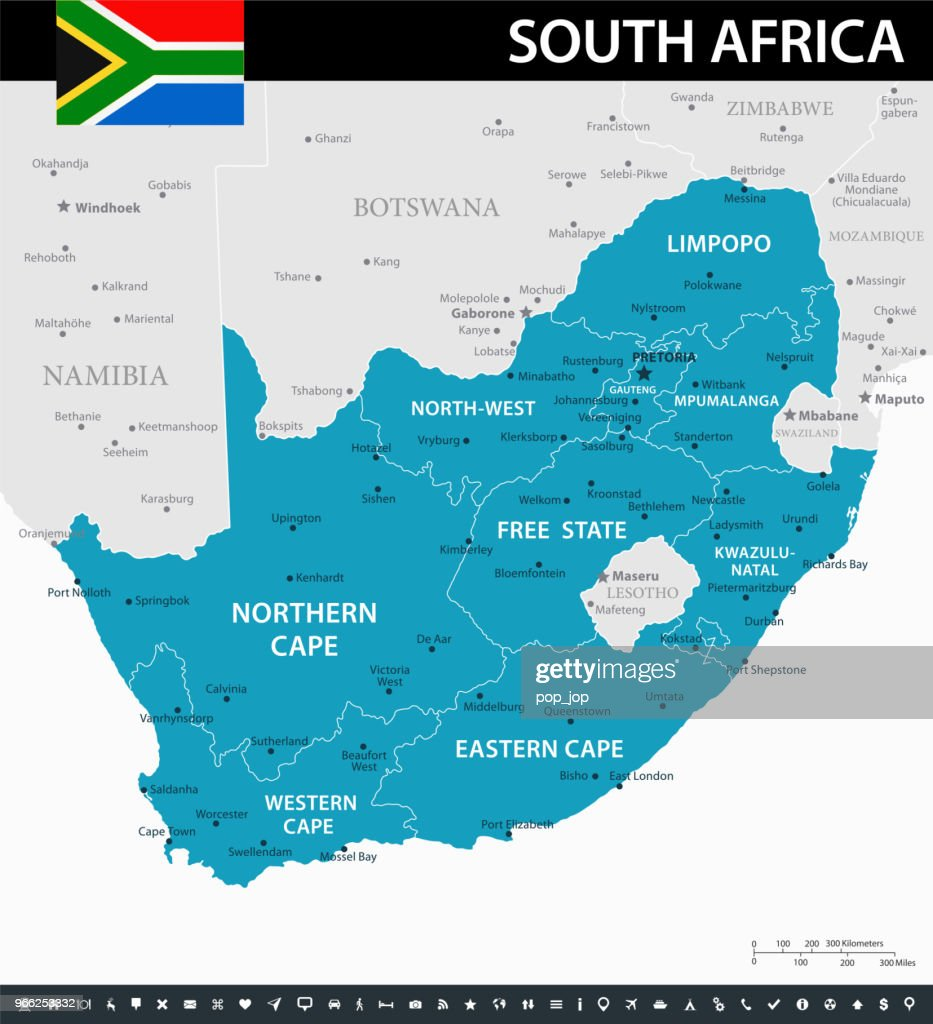 10 - South Africa - Murena 10 : stock illustration