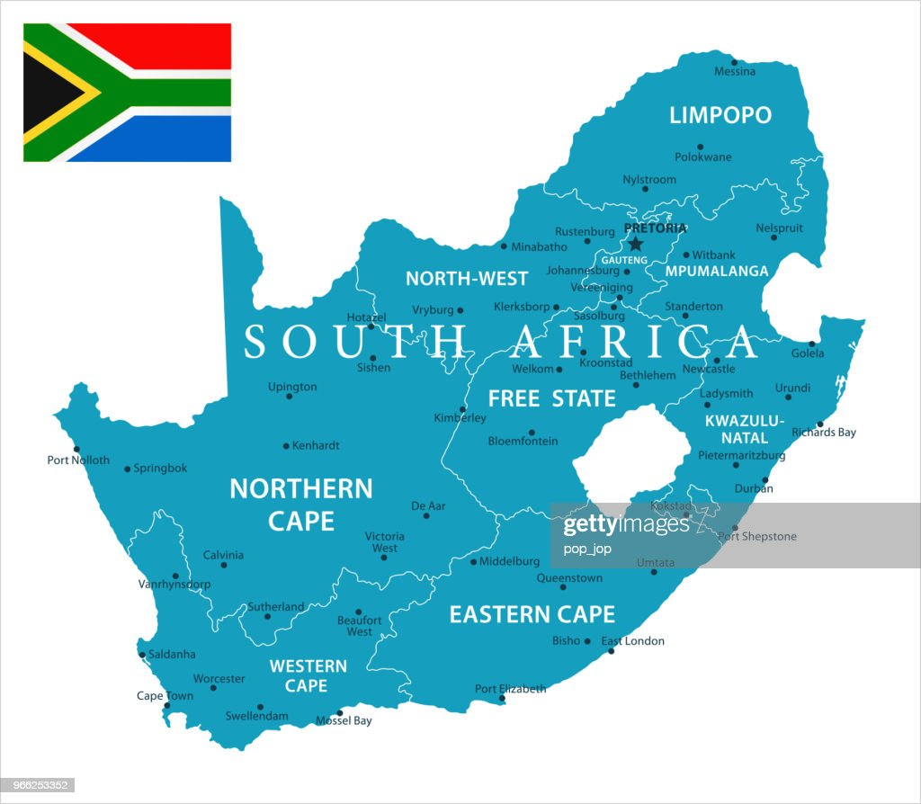 11 - South Africa - Murena Isolated 10 : stock illustration