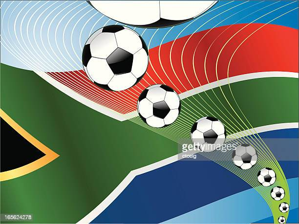 South Africa Soccer Ball Energy row