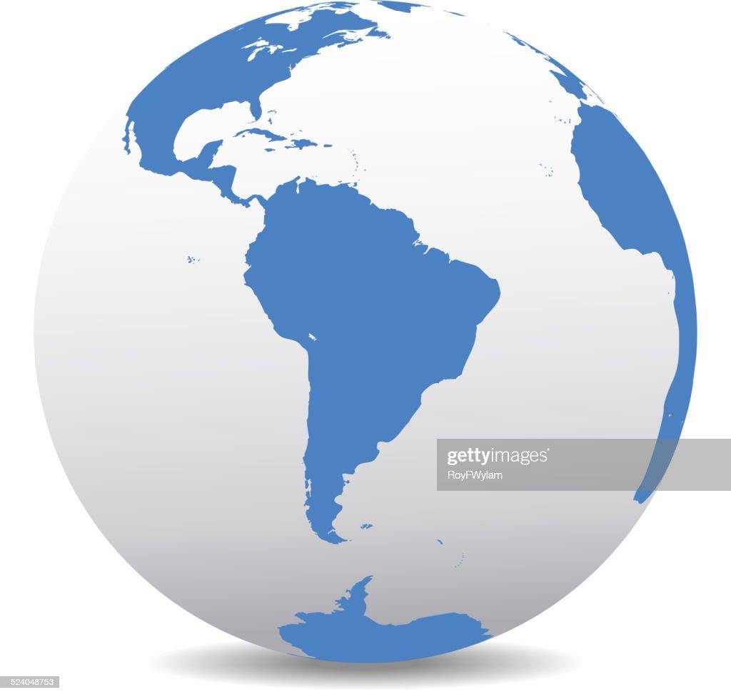 South America Global World