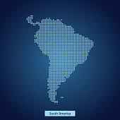 South America map