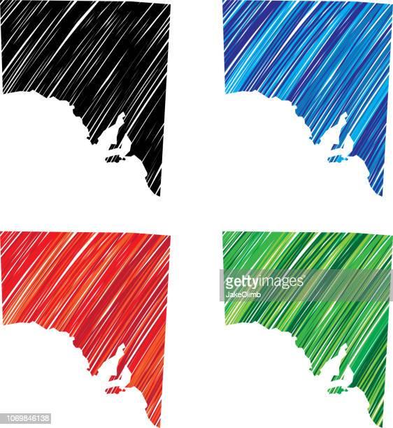 South Australia Scribble