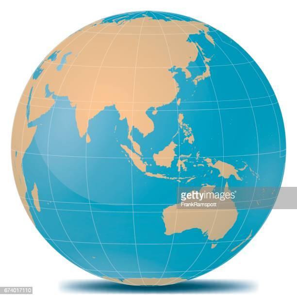 South East Asia Planetenerde